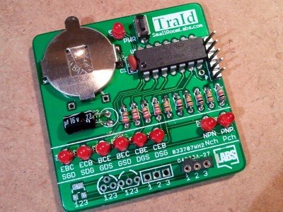 Transistor type & pinout identifierTransistor type & pinout identifier