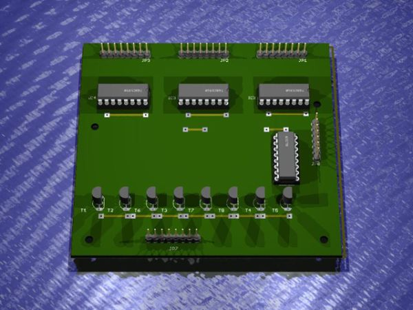24x6 LED Matrix Control Circuit