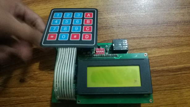 Automatic School Bell LCD interfacing