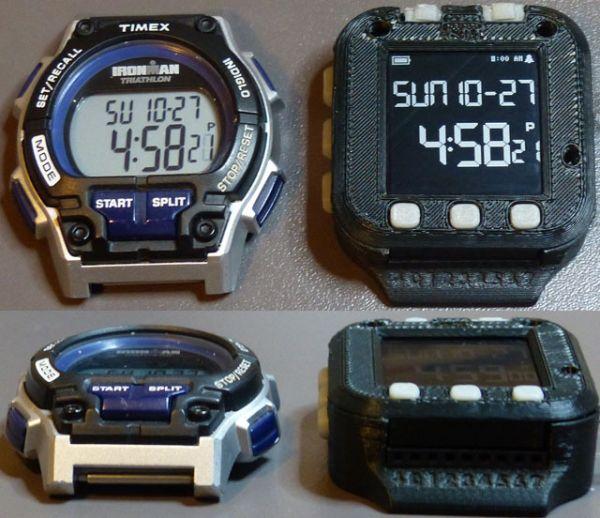 The amazing Oscilloscope Watch