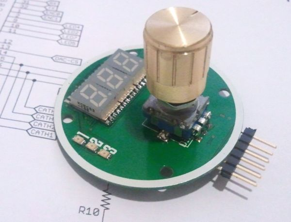 Rotary Encoder Digital Potentiometer