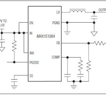 MAX15108A – High-Efficiency, 8A, Step-Down Switching Regulator