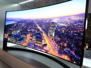 Curved displays at last