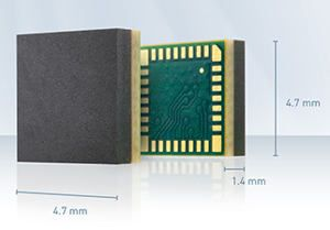Smallest GPS receiver from SiTime Telit