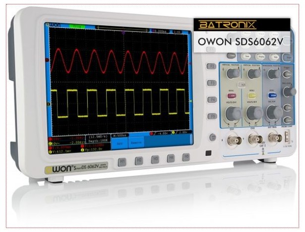 100 MHz Touch-screen Scope from Owon