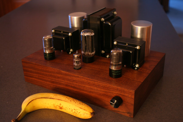 DIY Vacuum Tube Amplifier