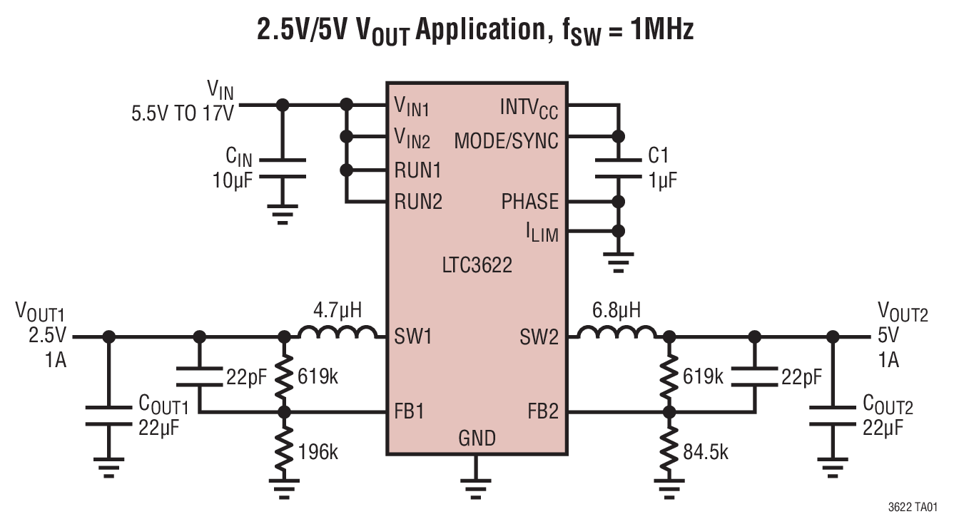 Step-Down Regulator with Ultralow Quiescent Current
