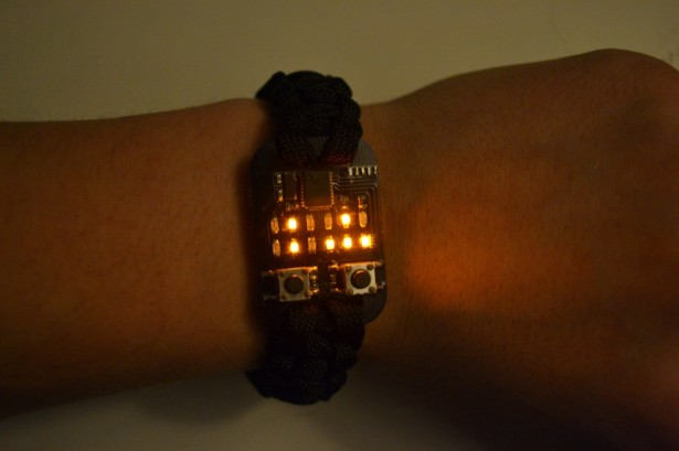 Binary wrist watch guarantees being identified as a nerd