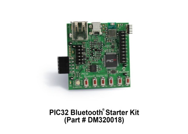 Microchip Introduces New PIC32 Bluetooth® Starter Kit