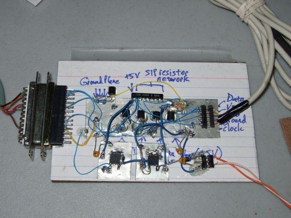 5 transistor PIC programmer