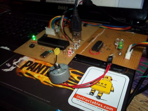 DC Motor Controller using PIC18F4550