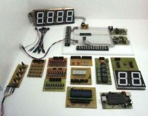 Development system for PIC and AVR microcontrollers