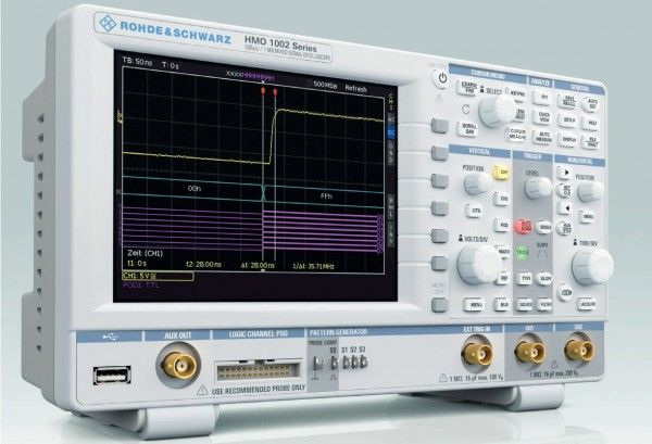 It´s hard to resist to R&S HMO1002 oscilloscope for 610 Euro