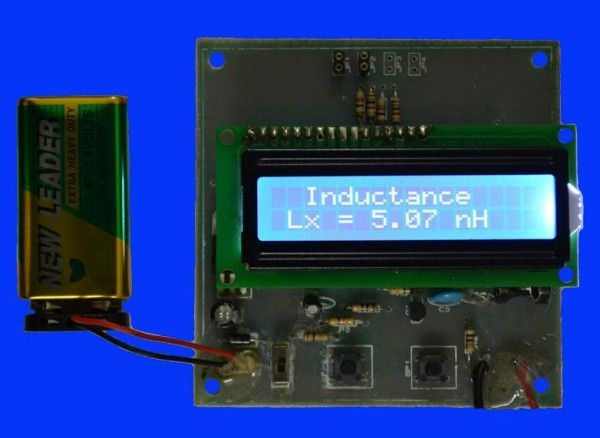 LC Meter based on PIC 16F628A
