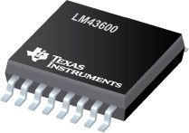 LM43600 – SIMPLE SWITCHER® 3.5V to 36V, 500mA Synchronous Step-Down Voltage Converter