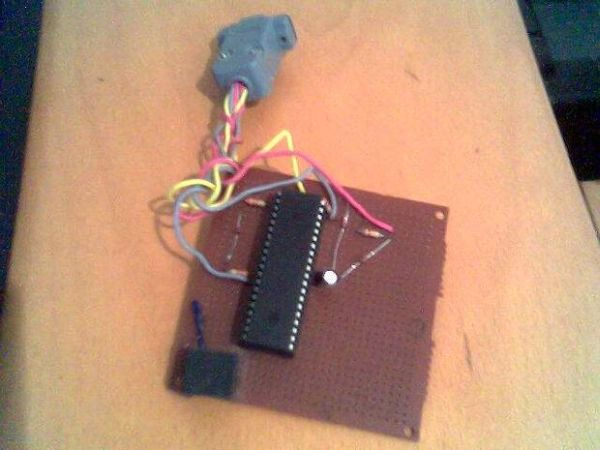 PIC 16F917 Microcontroller Programmer