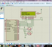 PIC MicroController Volume Adjuster Program(Proteus 8 Stimulation)