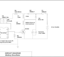 PIC12F629 Lead-Acid Battery Desulfator