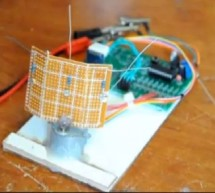 Single-Axis PIC Controlled Solar Tracker DIY Kit