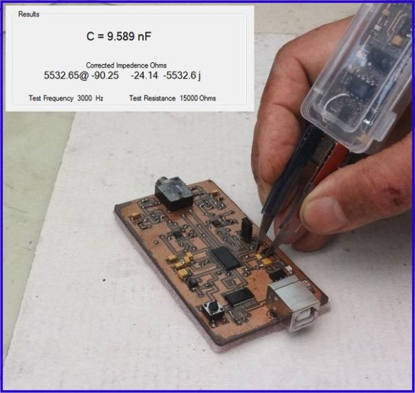 USB Tweezers for ZRLC measurements