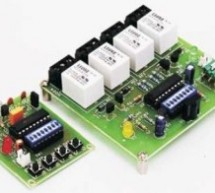 Wireless Radio Frequency Module Using PIC Microcontroller