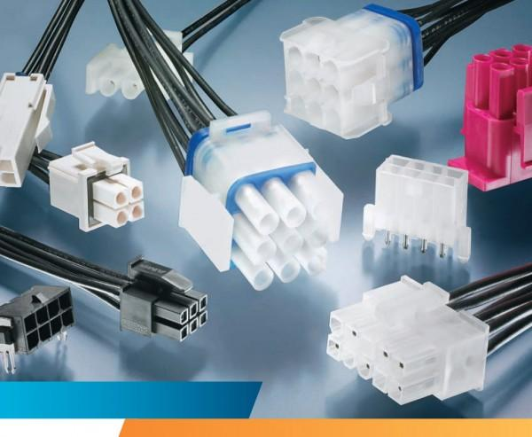 Connect and lock - connectors MATE-N-LOK