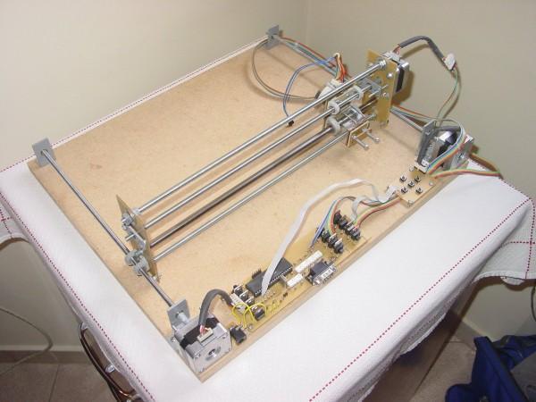 Homemade Plotter (CNC Machine)