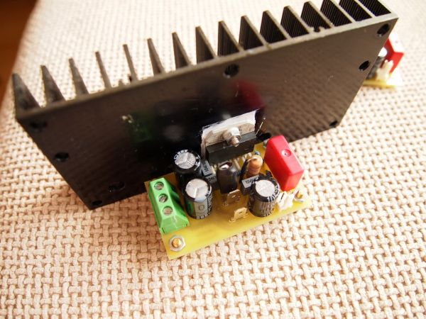50W Power Amplifier with LM3886