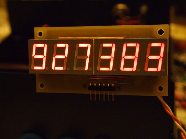 Basic Frequency Counter : Frequency counter with pic f a