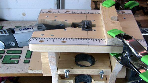 Shaper for Dremel rotary tool