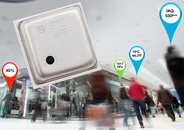 Combo MEMS sensor solution with integrated gas sensor