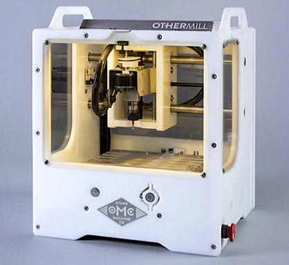 Desktop milling machine creates PCBs and packaging