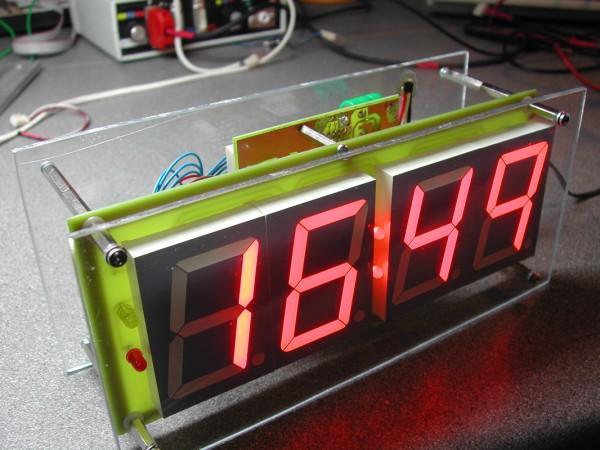 PIC Digital Thermometer & Clock