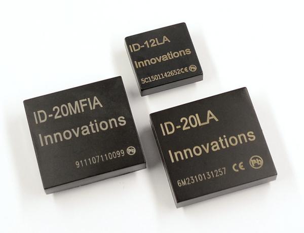 RFID module ID12LA will also abide a lower voltage