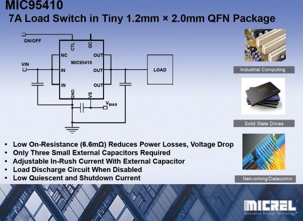 Tiny Power Switch good for 7Amps