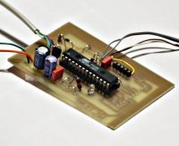 A digital thermometer or talk I2C to your atmel microcontroller using pic microcontroller
