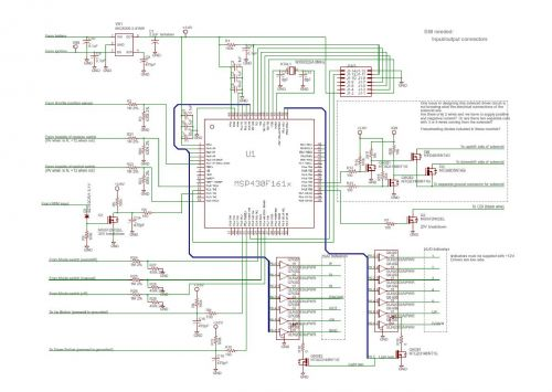 Electrical Subsystem Schematics