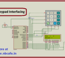 Keypad scanning and interfacing with PIC16f877 microcontroller