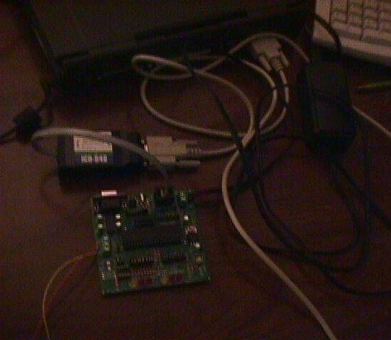 Microchip PIC16F877 Microcontroller