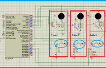 PIC microcontroller based fastest finger press quiz buzzer project