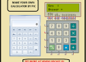 Project on making calculator using PIC16F877 and Mikcro C Pro