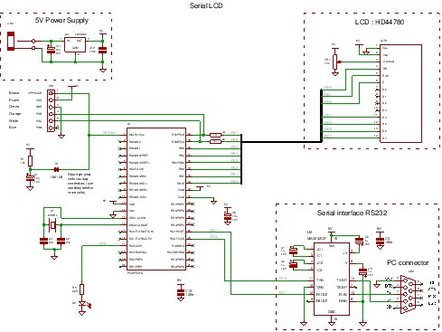 A PIC Serial LCD Project