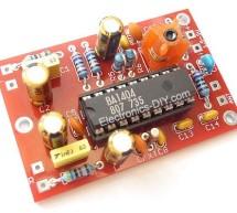 BA1404 HI-FI Stereo FM Transmitter 88 – 108 MHz usnig pic microcontoller