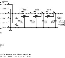CNC Controller Motion Schematics (Rev. D) using pic microcontrollers