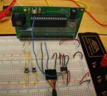 Data logging with an EEPROM