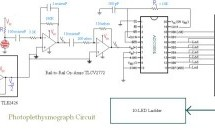 MEASURING HEART RATE USING A PHOTOPLETHYSMOGRAPHIC CARDIOTACHOMETER using  pic-microcontroller