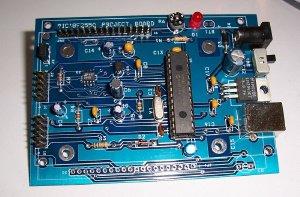 PIC18F2550 Project Board