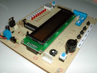 PlayPIC - A Tutorial Board for the PIC16F84A Microcontroller
