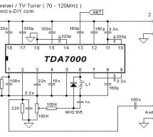 TDA7000 FM Receiver / TV Tuner / Aircraft Receiver using pic microcontoller