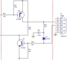 TTL to RS232 Signal Conversion